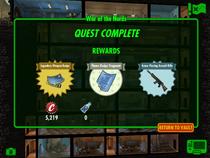 War of the Nerds rewards
