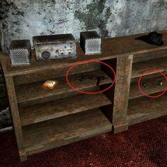 «9-мм пістолет-кулемет НКР» і дві «осколкові гранати НКР» в кабінеті колишнього начальника