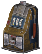 FNV yellow slotmachine