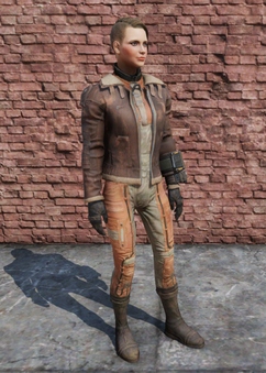 FO76 Bomber Jacket Female