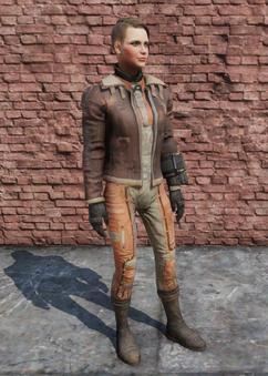 FO76 Bomber Jacket Female