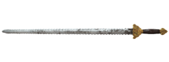 Fo4 General Chao's Revenge Sword Serrated Blade