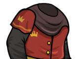 Medieval ruler outfit
