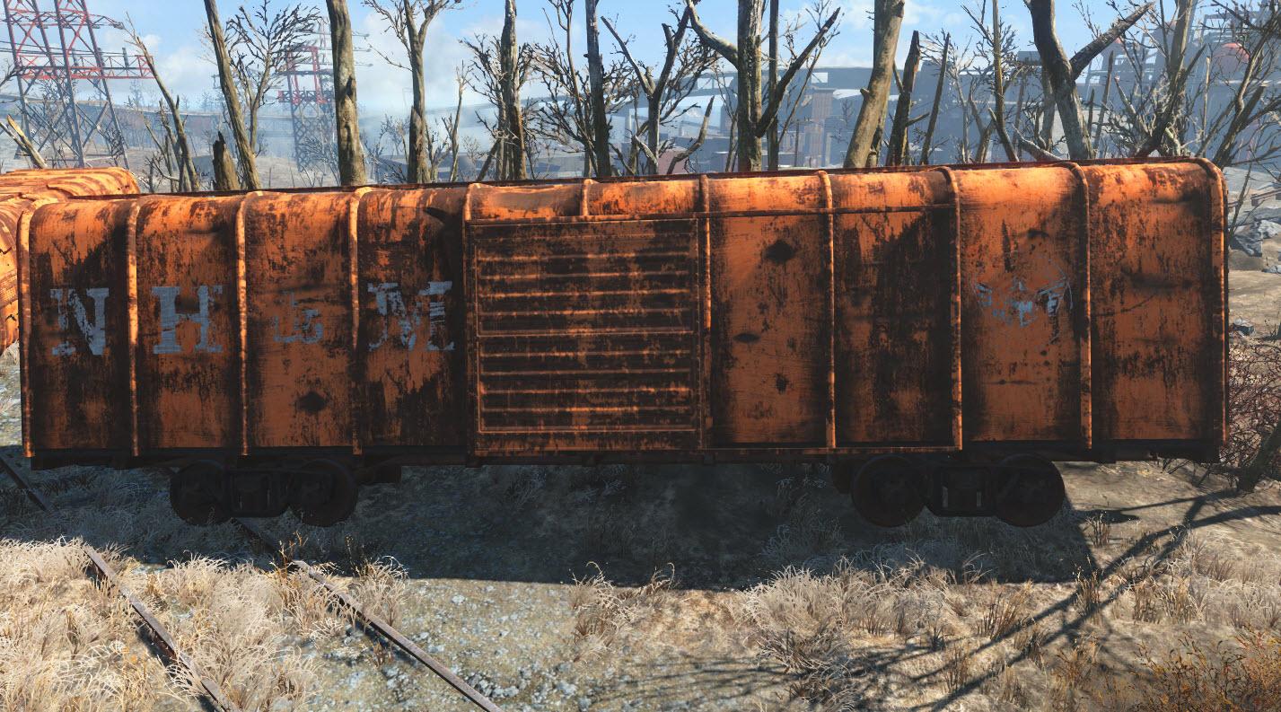 Nh&m-railcar