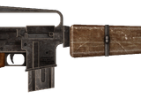 Survivalist's rifle