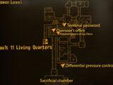 Vault 11 overseer's terminal password
