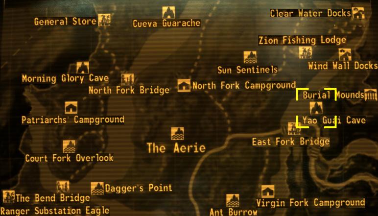 Yao Guai Cave Honest Hearts Fallout Wiki Fandom