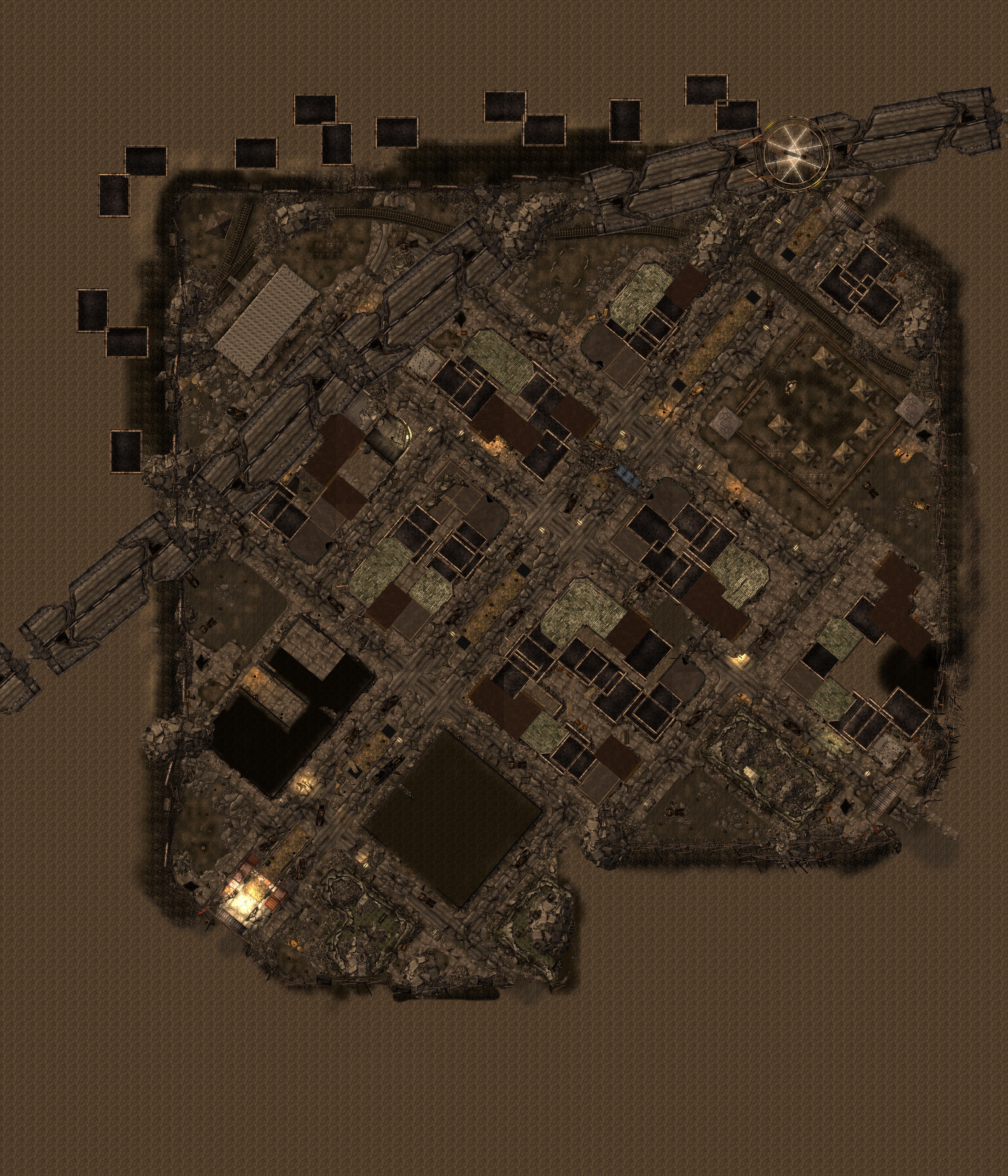 FNV Freeside map