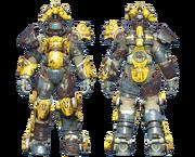 FO4CC Horse power armor