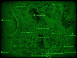 FO4 Озеро Куаннапоуитт (карта мира)