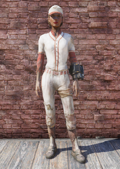 FO76 Baseball Uniform
