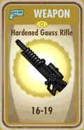 FoS Hardened Gauss Rifle Card