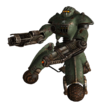Military sentry bot