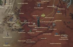 Devil's Backbone map