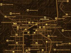FNV Карта ДОМ В МОХАВЕ