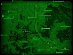FO4 Парк Непонсет (карта мира)