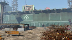 FO4 The Wall (Diamond City)