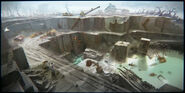 FO4 Thicket Excavations TV 1 concept art