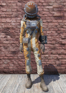 FO76 Hazmat Suit Damaged