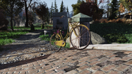 FO76 Yellow bicycle Whitespring