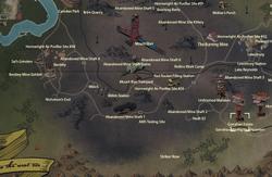 Garrahan Estate map