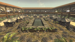 Gomorrah courtyard