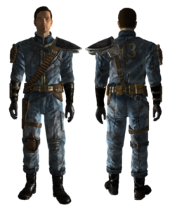 Vault 13 Armored back