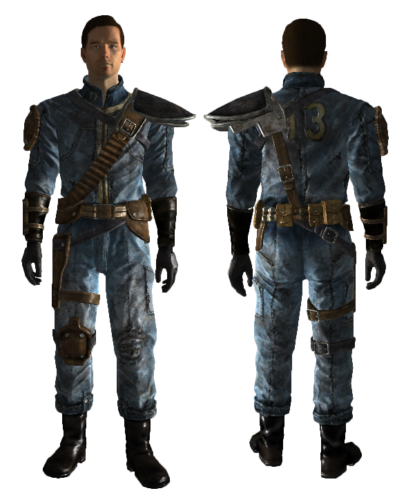 Armored Vault 13 Jumpsuit Fallout Wiki Fandom Powered By Wikia