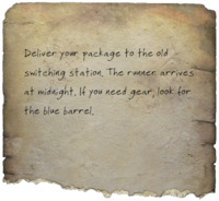 FO4 Dutchman's Instructions Note