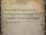 Dutchman's instructions