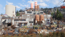 FO76 Monongah power plant