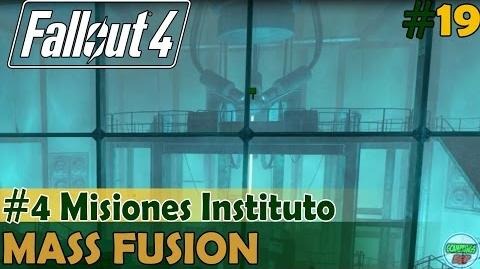 Fallout 4 Mass Fusion 4 Misiones Instituto PC Español Gameplay sin Comentarios