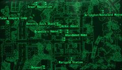 Grayditch loc map