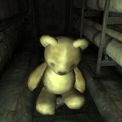 The giant teddy bear