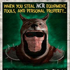 Зображення на постері з пропагандою НКР