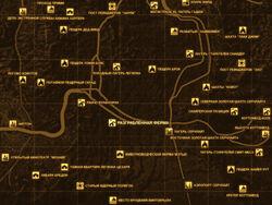FNV Карта РАЗГРАБЛЕННАЯ ФЕРМА