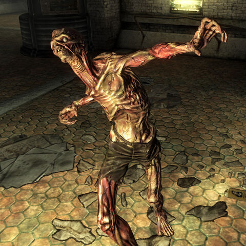 A feral ghoul in <i>Fallout 3</i>.