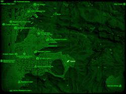 FO4 Замок (карта мира)