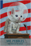 FO4 posters The First Cat in Space