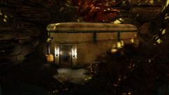 Fo76 Ella Ames' bunker exterior BETA