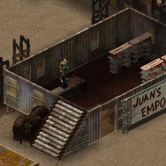 Магазин «Juan's Emporium», перший поверх