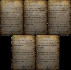 Brianna Hawke's diary