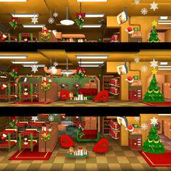 Оформлення кімнати на Різдво