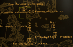 FNV Cottonwood Cove HQ locmap