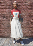 FO76 Asylum Worker Uniform Red