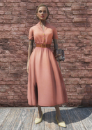 FO76 Laundered Rose Dress