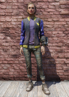FO76 VTU Jacket and Jeans