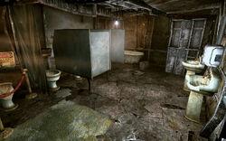 Megaton womens restroom ent