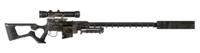 FNV sniper rifle Carbon Fiber Parts Suppressor