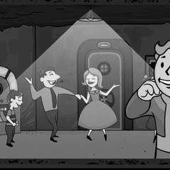 The Vault Boy in a promotional video of Vault-Tec